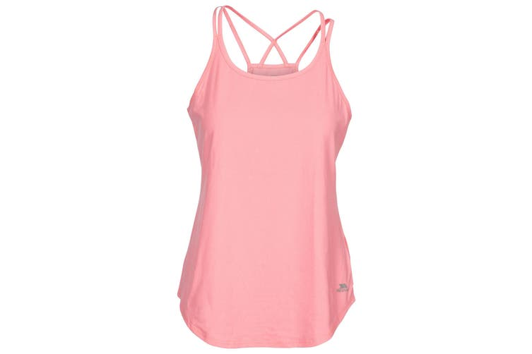 Trespass Womens/Ladies Meghan Active Vest (Neon Coral Marl) (XXS)