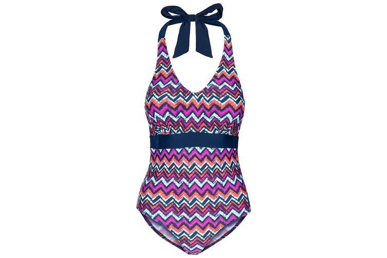 Trespass Womens/Ladies Sheila Swimsuit (Zigzag Print) (XXL)