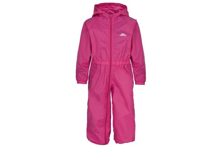Trespass Babies Button Waterproof Rain Suit (Gerbera) (12/18 Months)
