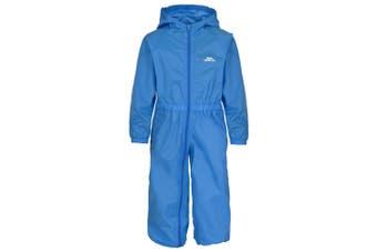 Trespass Babies Button Waterproof Rain Suit (Cobalt) - UTTP466