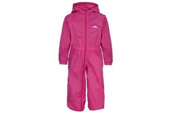 Trespass Babies Button Waterproof Rain Suit (Gerbera) (18/24 Months)