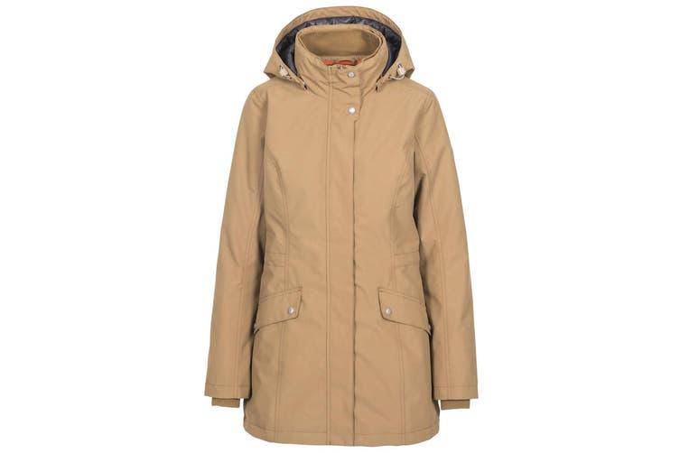 Trespass Womens/Ladies Generation Hooded Jacket (Sandstone) (XL)