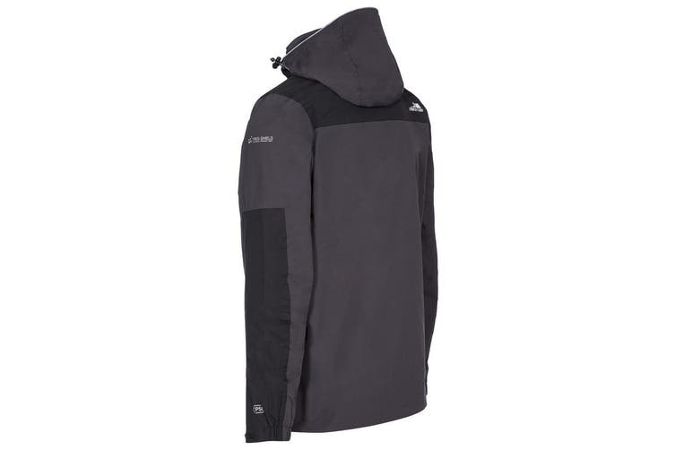 Trespass Mens Trolamul Ski Jacket (Dark Grey) (S)