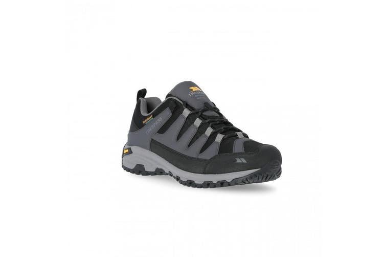 Trespass Mens Cardrona II Vibram Walking Shoes (Dark Grey) (8 UK)