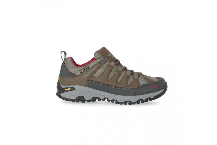 Tresspass Womens/Ladies Carnegie II Vibram Walking Shoes (Brindle) (4 UK)