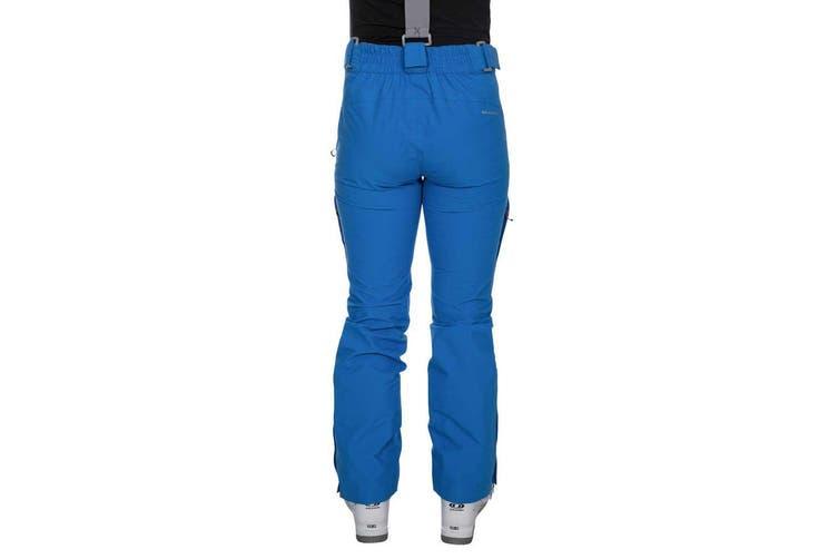Trespass Womens/Ladies Jacinta DLX Ski Salopettes Trousers (Vibrant Blue) (2XL)
