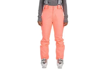 Trespass Womens/Ladies Jacinta DLX Ski Salopettes Trousers (Neon Coral) (2XS)