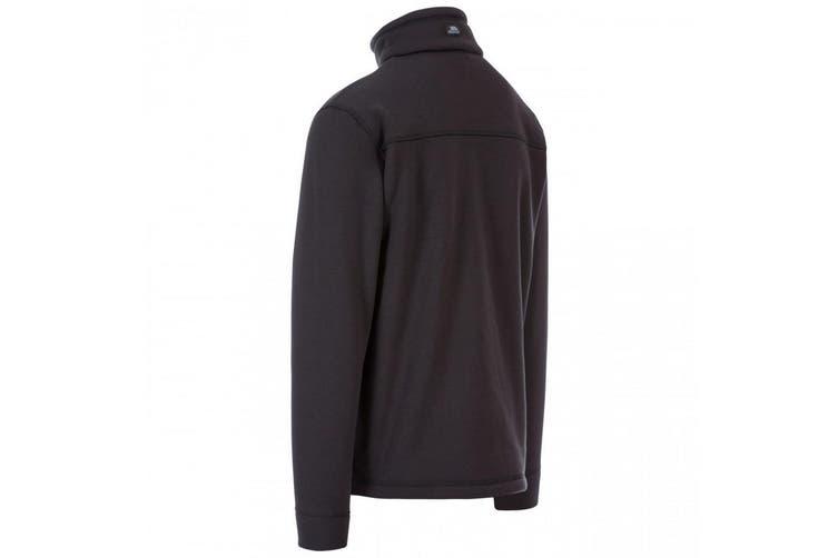 Trespass Mens Tailbridge Heavyweight Fleece (Black) (XL)