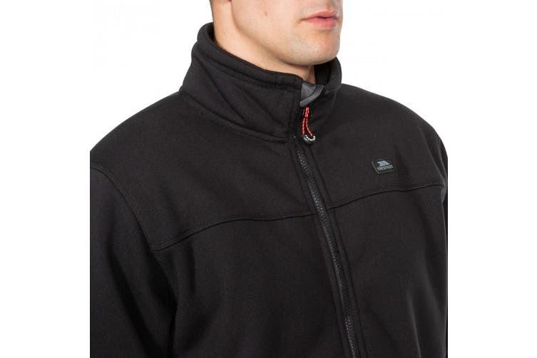 Trespass Mens Tailbridge Heavyweight Fleece (Black) (XS)