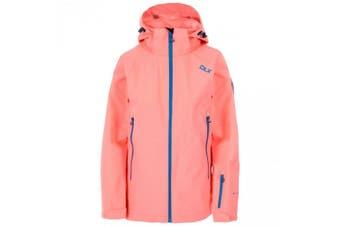 Trespass Womens/Ladies Tammin DLX Ski Jacket (Neon Coral) (S)