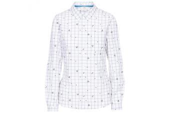 Trespass Womens/Ladies Zova Casual Shirt (Black Flower) (XL)