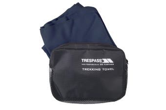 Trespass Soaked Sports Towel (Navy Blue) (One Size)