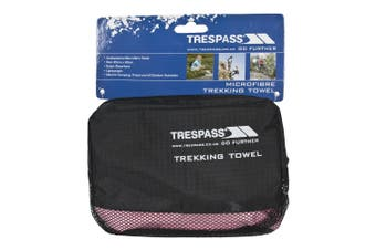 Trespass Soaked Sports Towel (Pink) (One Size)