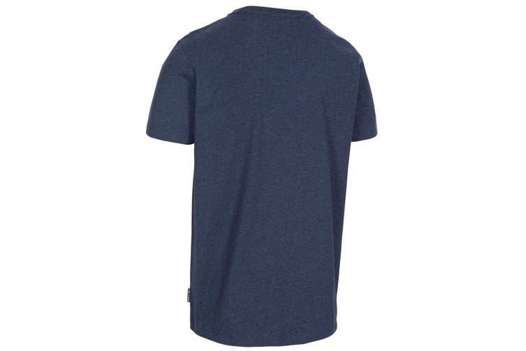 Trespass Mens Buzzinley T-Shirt (Navy Marl) (XS)
