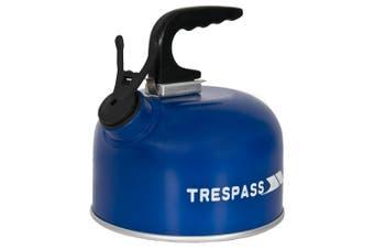 Trespass Boil Aluminum Kettle (1 Litre) (Blue) (One Size)