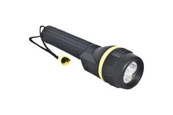 Trespass Illumination 3 LED Rubber Torch (Black) (One Size)