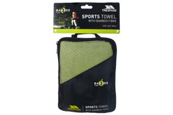 Trespass Wickerman Bamboo Sports Towel (Green) (One Size)