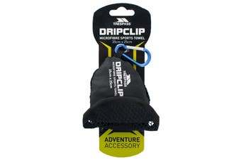 Trespass Dripclip Microfibre Towel Keyring With Carabiner Clip (Blue) (One Size)