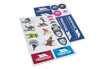 Trespass Die Cut Sticker Kit (Multi) (One Size)