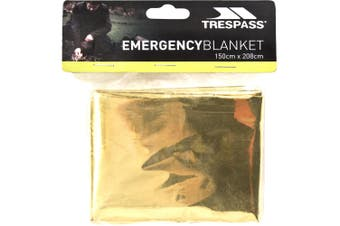 Trespass Foil X Emergency Blanket (Gold) (One Size)