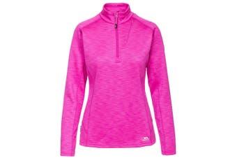 Trespass Womens/Ladies Fairford Fleece Top (Pink Glow Marl) - UTTP646