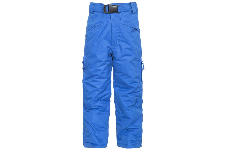 Trespass Kids Unisex Marvelous Ski Pants With Detachable Braces (Blue) (3/4 Years)