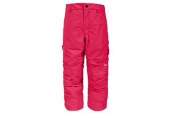 Trespass Kids Unisex Contamines Padded Ski Pants (Raspberry) - UTTP984