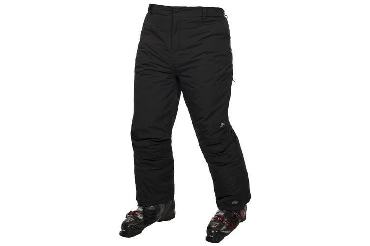 Trespass Kids Unisex Contamines Padded Ski Pants (Black) (2/3 Years)