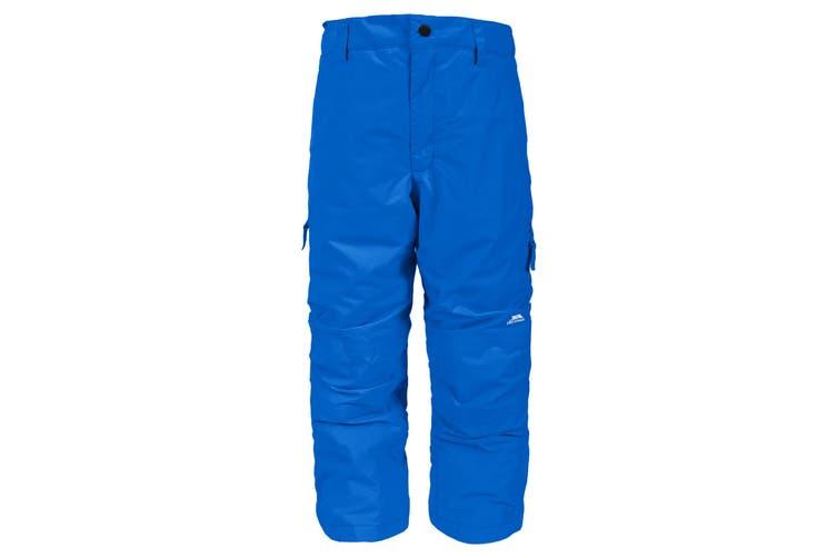 Trespass Kids Unisex Contamines Padded Ski Pants (Blue) (7/8 Years)