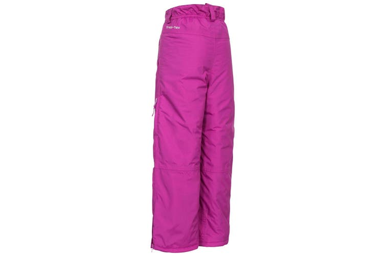 Trespass Kids Unisex Contamines Padded Ski Pants (Purple Orchid) (11/12 Years)