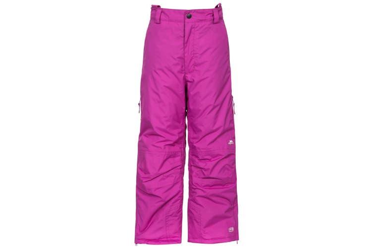 Trespass Kids Unisex Contamines Padded Ski Pants (Purple Orchid) (2/3 Years)