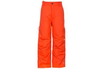 Trespass Kids Unisex Contamines Padded Ski Pants (Hot Orange) - UTTP984