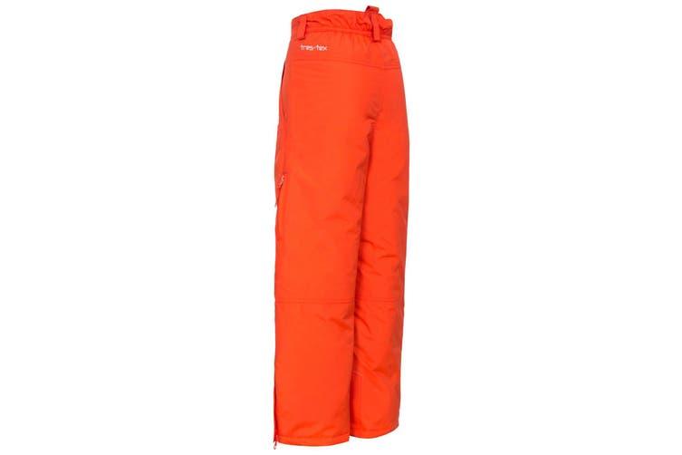 Trespass Kids Unisex Contamines Padded Ski Pants (Hot Orange) (3/4 Years)