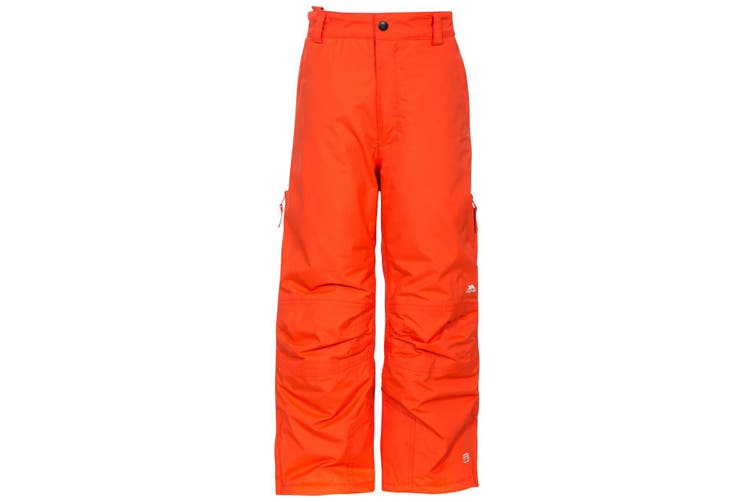 Trespass Kids Unisex Contamines Padded Ski Pants (Hot Orange) (5/6 Years)
