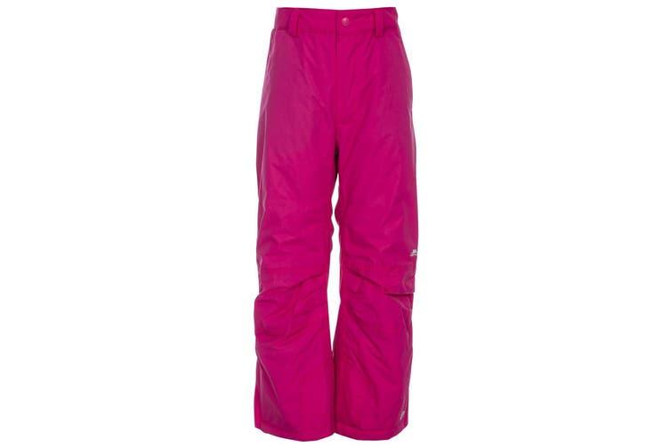 Trespass Kids Unisex Contamines Padded Ski Pants (Pink Lady) (11/12 Years)