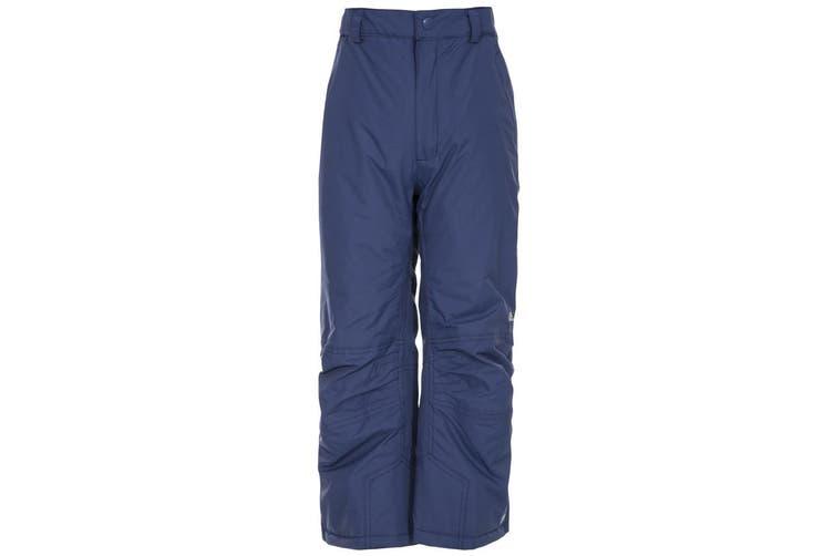 Trespass Kids Unisex Contamines Padded Ski Pants (Twilight) (7/8 Years)