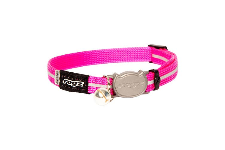 Rogz Alleycat Cat Collar (Pink) (One Size)