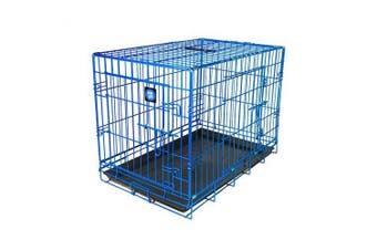 Dog Life Dog Crate (Blue) (91x55x63cm)