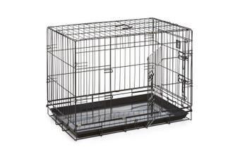 Dog Life Dog Crate (Black) (91x55x63cm)