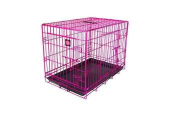 Dog Life Dog Crate (Pink) (60x43x50cm)