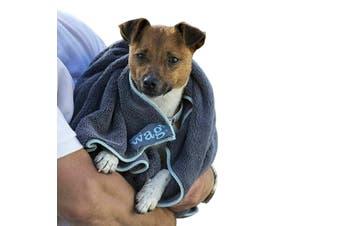 Henry Wag Microfibre Pet Towel (Grey) (100x70cm)