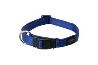 Rogz Utility Side Release Adjustable Dog Collar (Blue) (Extra Large)