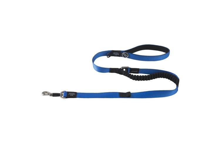 Rogz Utility Control Dog Lead (Blue) (1.2m x 25mm)