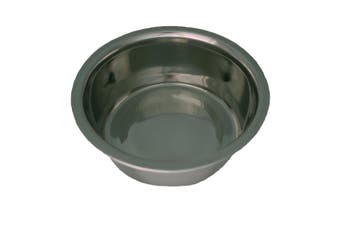Dog Life Stainless Steel Bowl (Silver) (9.75 inch)