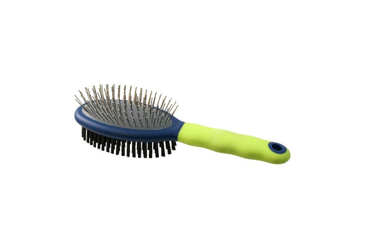 Premo Double Sided Brush (Green/Blue) (Large)