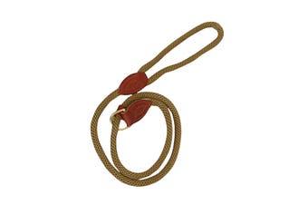 Country Pet Luxury Rope Slip Lead (Beige) (12mm x 1.8m)