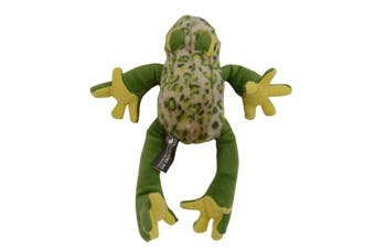 Country Pet Frog Dog Toy (Green) - UTTR604