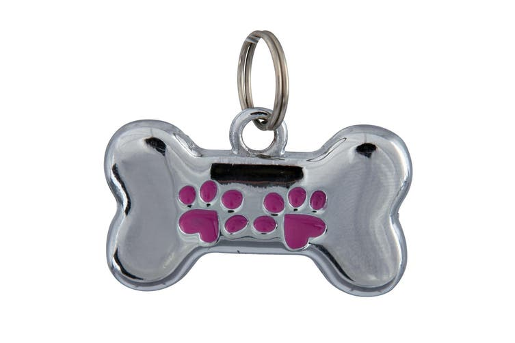 Trixie Fancy I.D. Tag - ASRTD (Assorted) (Bone)