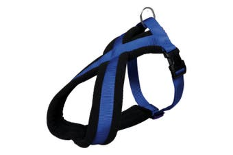 Trixie Premium Touring Dog Harness (Royal Blue) (M)