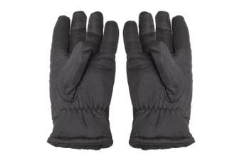 ProClimate Mens Waterproof Thermal Gloves (Black) - UTUT147